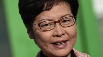 香港の行政長官、「広い心で市民の声を聞く」区議会選での敗北受け8時間前2019/11/25香港の林鄭月娥(キャリー・ラム)行政長官は25日、区議会選挙の結果を受け、政府は広い心で市民の声に耳を傾けると述べた