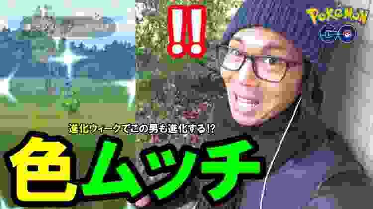 【ポケモンGO】神回!色違えミノムッチ!引きがとどまることを知らない!【進化ウィーク】