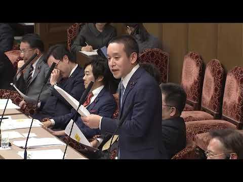 麻生大臣が絶賛!?NHKから国民を守る党 浜田聡 国会初質疑