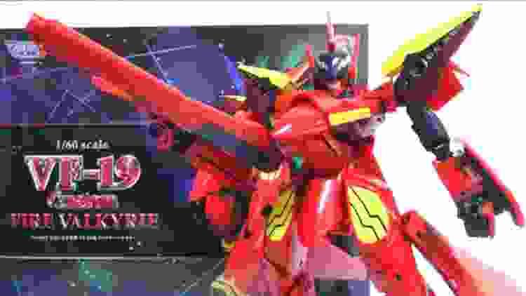 【マクロス7】俺の歌を聞け!1/60 完全変形 VF-19改 ファイヤーバルキリー ヲタファのじっくり変形解説レビュー / YAMATO 1/60 Fire Valkyrie