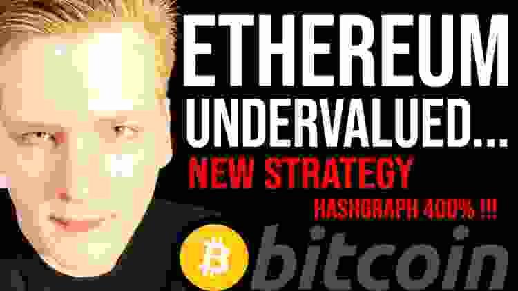 ETHEREUM UNDERVALUED (Massively)  - $10,000 Target? 🛑 Hashgraph +400%!!! Programmer explains