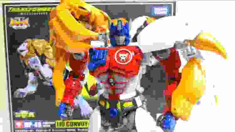 【ビーストウォーズII 】傑作 MP-48 ライオコンボイ ヲタファのトランスフォーマー変形解説 レビュー / Beast Wars MP-48 Lio Convoy(Leo Prime)