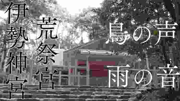 【雨と鳥のさえずり】伊勢神宮の森・聴くだけでチャクラが開く最強スピリチュアル自然音3時間【超パワースポット荒祭宮】Birds Songs and Rain In Ise-Jingu 3hours