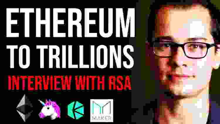 ETHEREUM TO TRILLIONS?! PoS vs Defi, Flash Loans, Kyber, ProgPow - Ryan Adams Interview