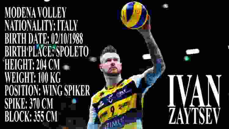 Ivan Zaytsev The King Of Volleyball In The World   Modena Volley