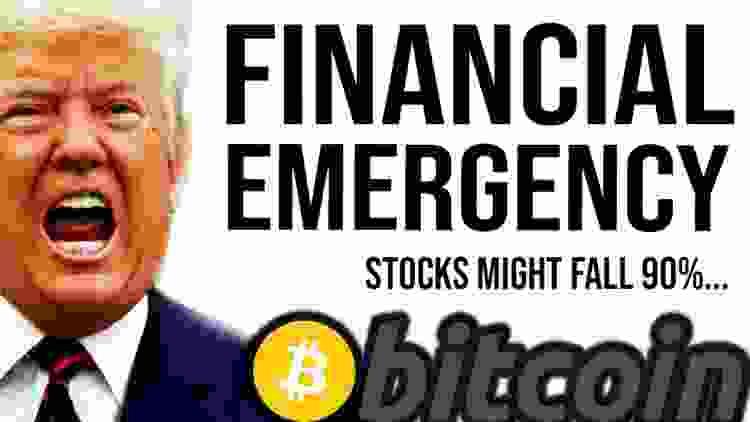 STOCKS WILL FALL 90%!? Bitcoin, Trump - Programmer explains