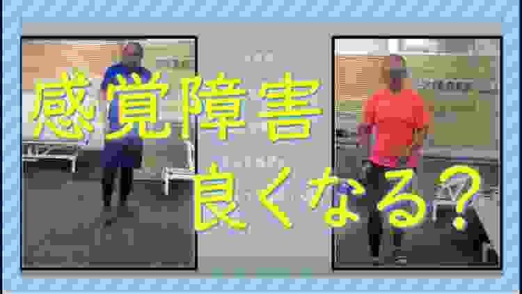 4年前 視床出血後の重度感覚障害の歩行 / 脳梗塞 保険外リハビリ 東京