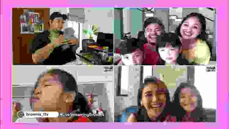 Semua Keluarga Host Brownis Ikut Syuting! Ivan Gunawan Sedih! | Brownis (31/3/20) P1